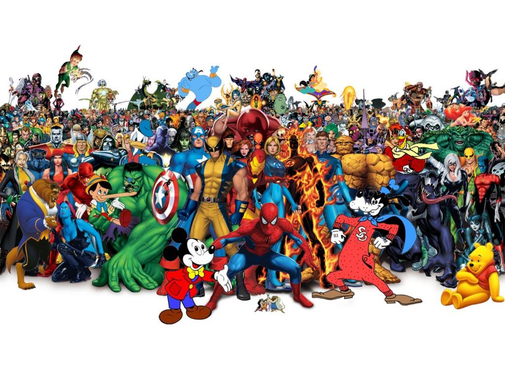 super-cizgi-filim-kahramanlari-masaustu-resmi