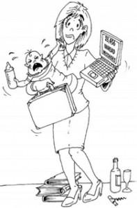 calisan_anne_karikatur